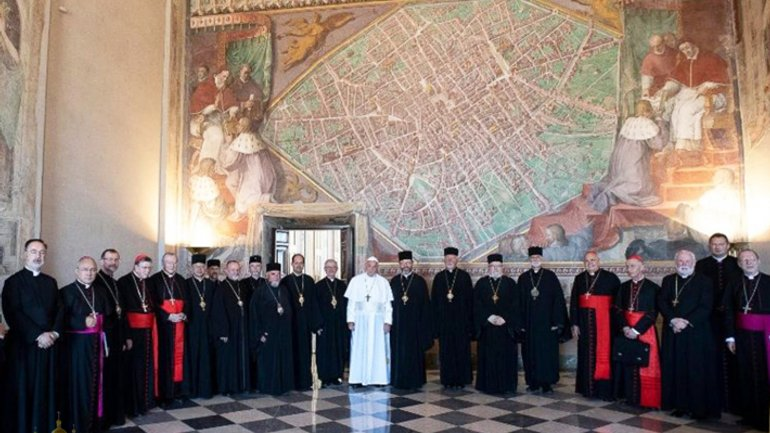 Vatican releases communiqué following meeting of Pope Francis with UGCC leaders - фото 1