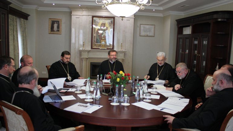 Synod of Bishops of the UGCC Kyiv-Halych Metropolitanate meets in Kyiv - фото 1