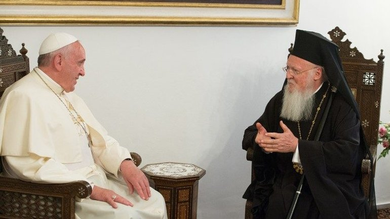 Pope sends greetings to Patriarch Bartholomew on feast of St Andrew - фото 1