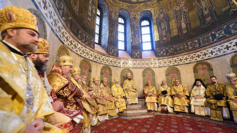 Archbishop Daniel Participates in the Divine Liturgy in Kyiv, marking the First Anniversary of the Unification Council of the OCU - фото 1