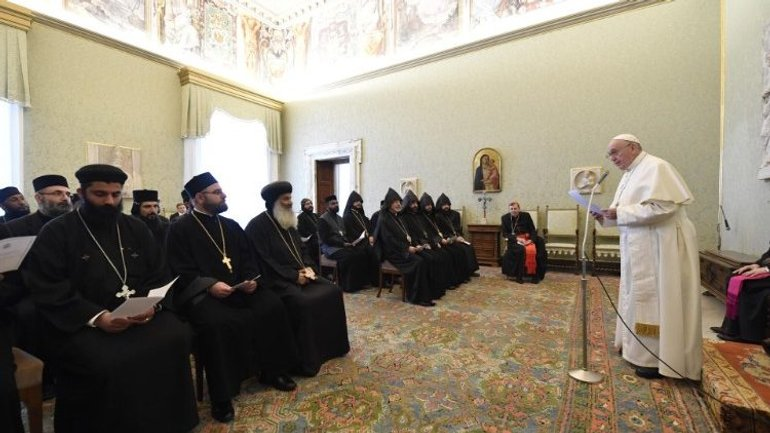 Pope to Orthodox priests and monks: May we share gifts of the Holy Spirit - фото 1