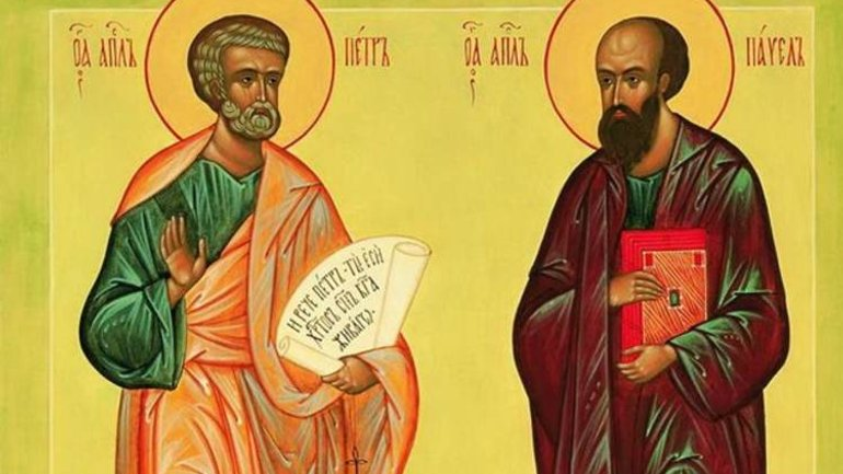 The feast of Saints Peter and Paul is celebrated today according to Julian calendar - фото 1
