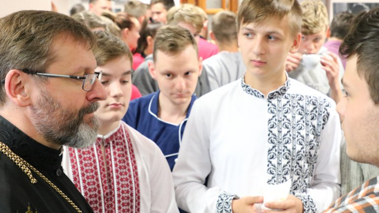 The head of the UGCC invited children and parents to a non-denominational Catholic school in Kyiv - фото 1