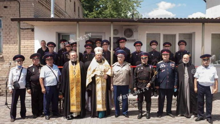 "Melitopol ""Cossacks"" want to engage in the protection of public order - фото 1"