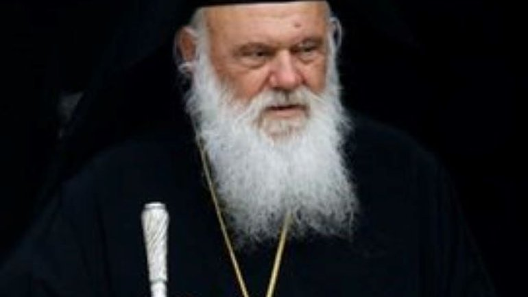 Archbishop of Greece in Evangelismos Hospital with Covid-19 - фото 1