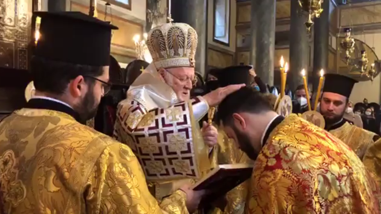 Patriarchal Deacon Iakovos Krochak is ordained presbyter and awarded the title of Grand Syncellus of the Great Church of Christ - фото 1