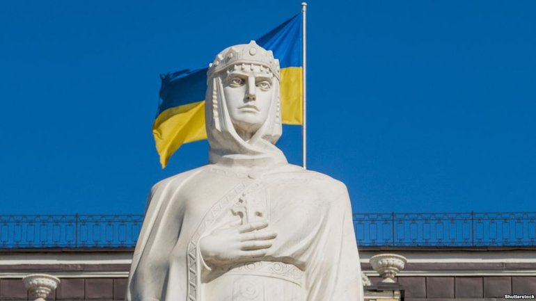 "Saint Princess Olga was not the ""Foundress of Russia"". Poroshenko urges WEF to correct the mistake - фото 1"