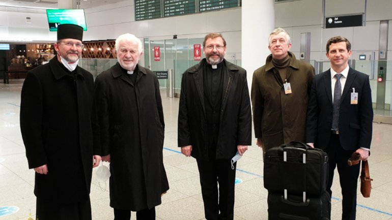 The Head of the UGCC arrived in Munich to enthrone the new Apostolic Exarch for Ukrainian Greek Catholics in Germany and Scandinavia - фото 1