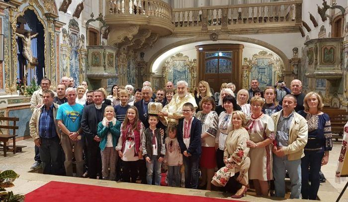Після Літургії з громадою в Португалії