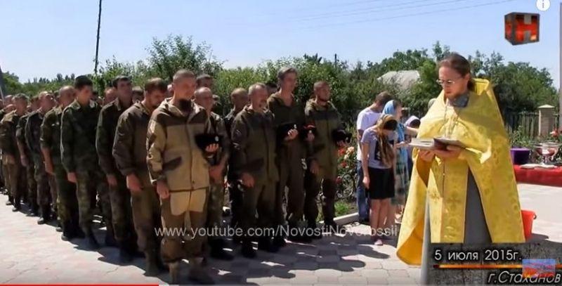 Благословенння від УПЦ МП для бойовиків - фото 58432