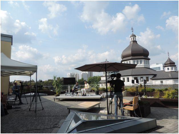 Фестиваль Вітер На-Дії 2020 біля Центру Шептицького і храму Святої Софії у Львові