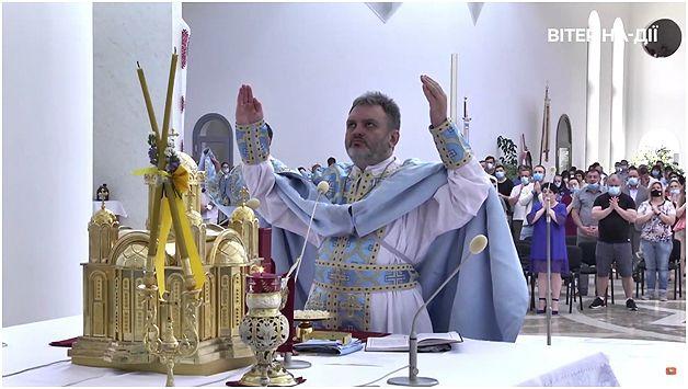 Отець Олег Шепетяк. Літургія на фестивалі Вітер На-Дії