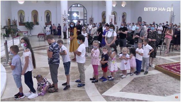 Літургія у Патріаршому соборі Воскресіння Христового у Києві на фестивалі Вітер На-Дії