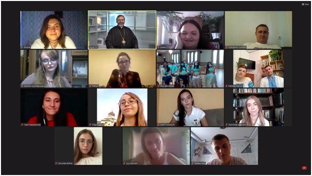 Zoom-конференція із Блаженнішим Святославом Шевчуком та української молоді на фестивалі Вітер На-Дії #ЧАСМОЖЛИВОСТЕЙ