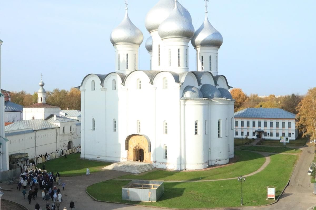 At the height of the war, 'Ukrainian patrons' fund cathedral renovation in Vologda, Russia - фото 59515