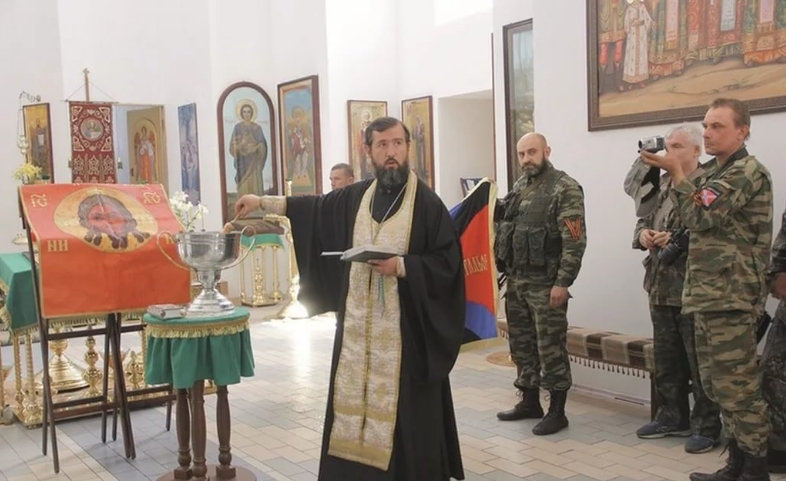 Police making enquiries about the priest from Sloviansk, who blessed Girkin - фото 61029