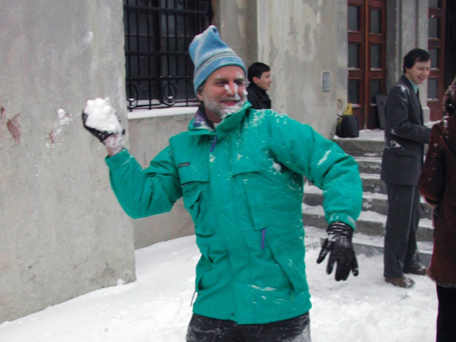 Сніжки з ректором - фото 62125