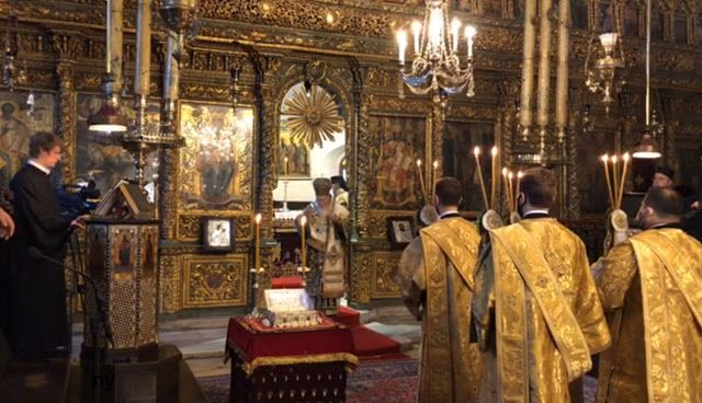 The Prime Minister of Ukraine attended the Patriarchal and Synodal Divine Liturgy of Thronal Feast of Ecumenical Patriarchate - фото 62596