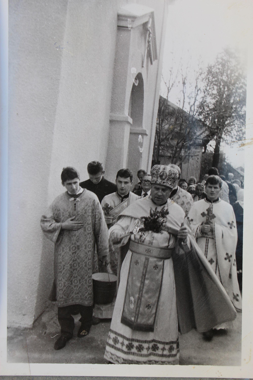 Отець Михайло Косило – перший настоятель собору, коли церква відродилася