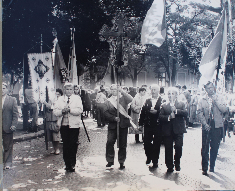 Урочиста зустріч Глави УГКЦ, жовтень 1991 року