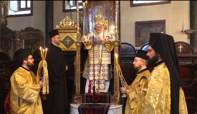 Patriarchal Deacon Iakovos Krochak is ordained presbyter and awarded the title of Grand Syncellus of the Great Church of Christ - фото 67547