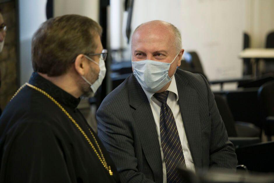 Блаженніший Святослав з Олегом Турієм