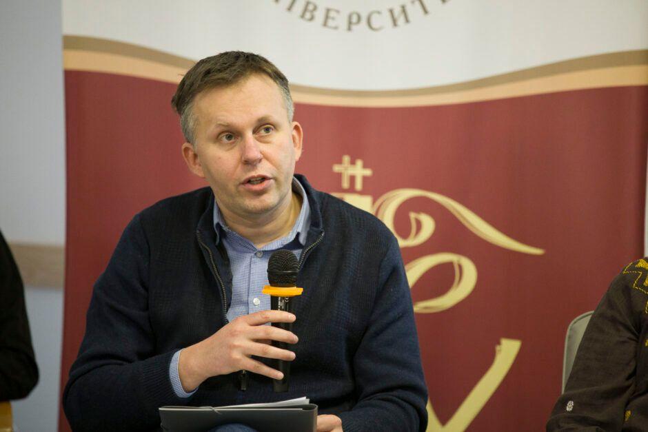 Роман Скакун, заступник директора Інституту історії Церкви УКУ