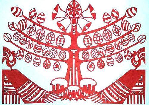 Великодня витинанка Оксани Гординської - фото 71550
