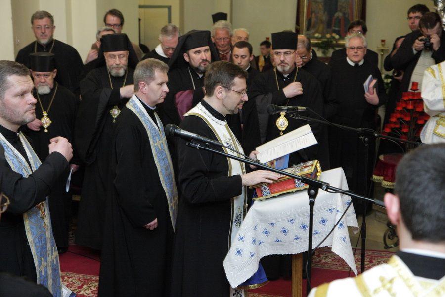 Визнання віри під час єпископської хіротонії владики Святослава Шевчука