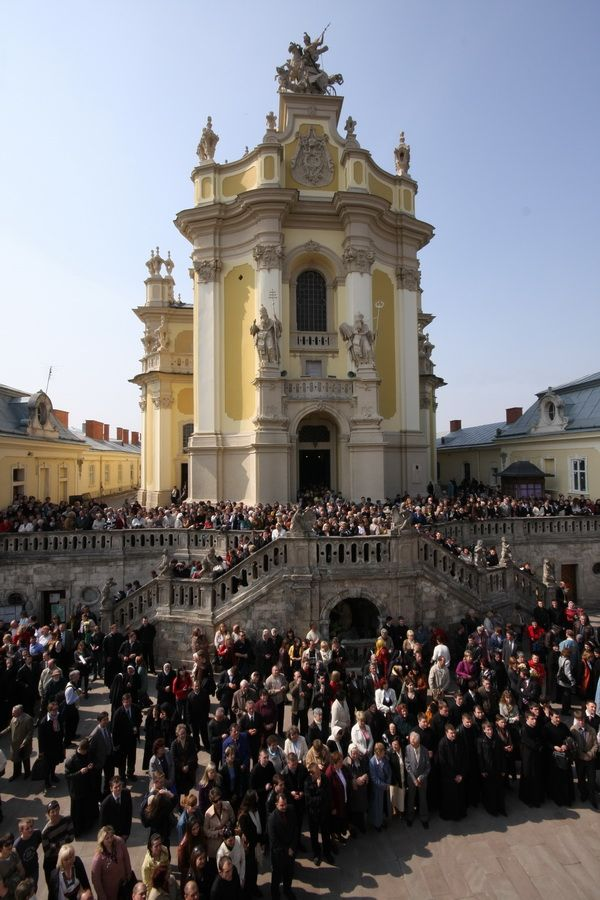 Єпископська хіротонія владики Святослава Шевчука у соборі Святого Юра